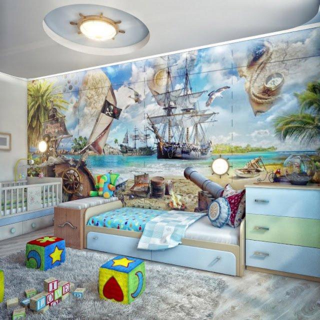 идеи фотообои для детской комнаты идеи для печати фотообоев для